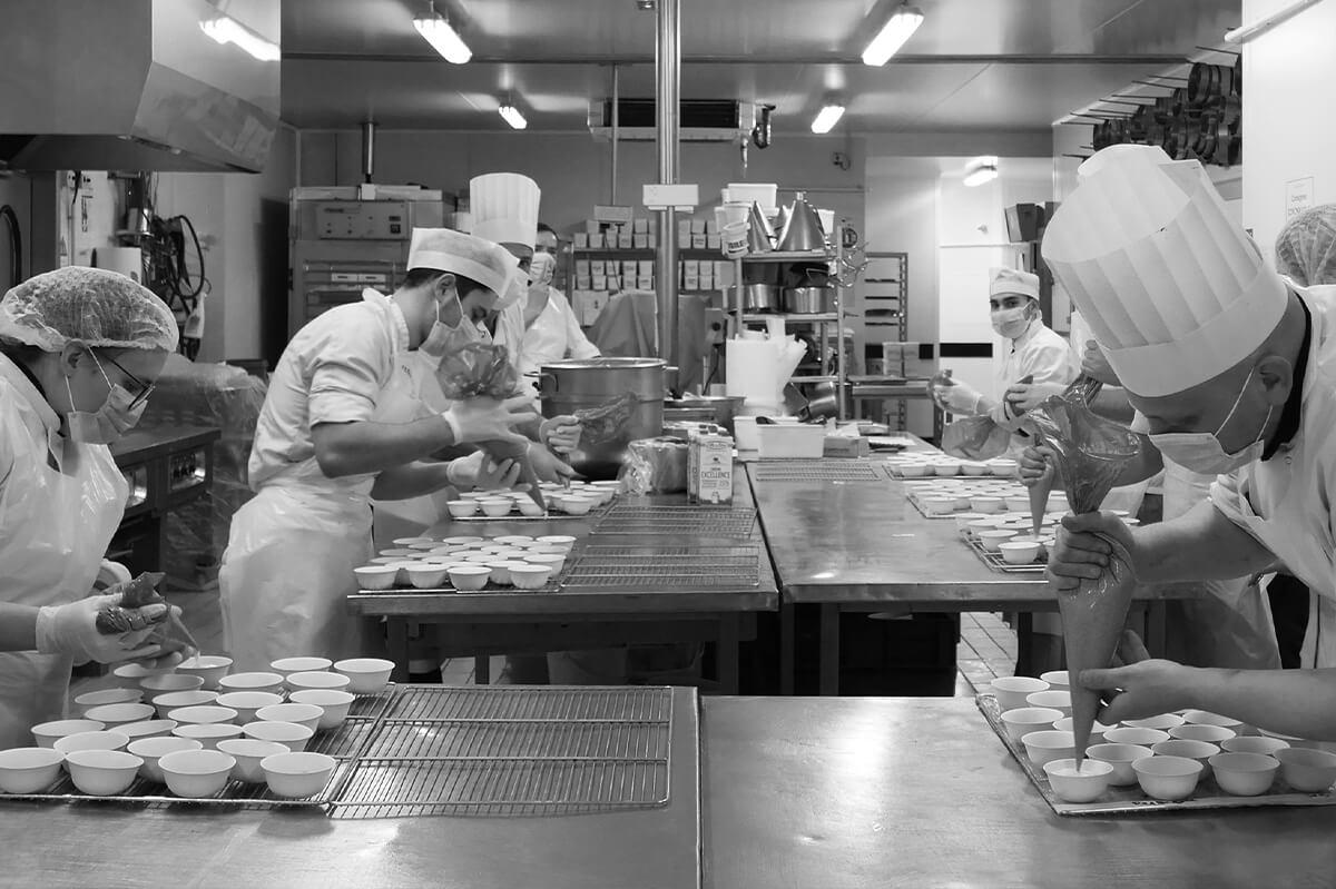 chefs-cuisinier-covid-masque-gestes-barriere-cuisine